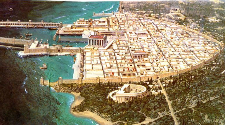 Caesarea: A Glimpse into the Port City's Archaeological Past
